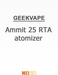 GeekVape Ammit 25 RTA