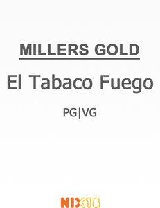 Millers El Tabaco Fuego PG/VG