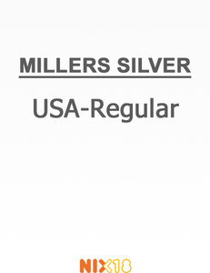 Millers USA-Regular