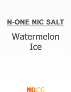 N-One Nic Salt Watermelon Ice