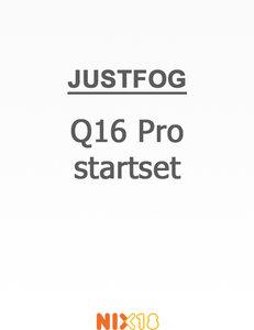 Justfog Q16 Pro startset