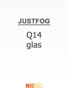 Justfog Q14 Pyrex Glass