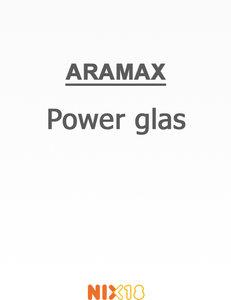 Aramax Power glas