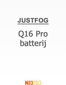Justfog Q16 Pro batterij