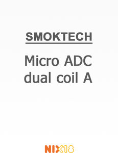 Smok Micro ADC dual coil A