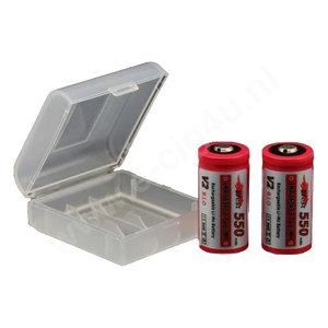 Efest batterij case 16340/18350/18650