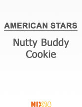 American Stars Nutty Buddy Cookie