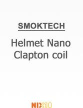 Smok Helmet Nano Clapton coil
