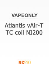 Vapeonly Atlantis vAir-T TC coil NI200